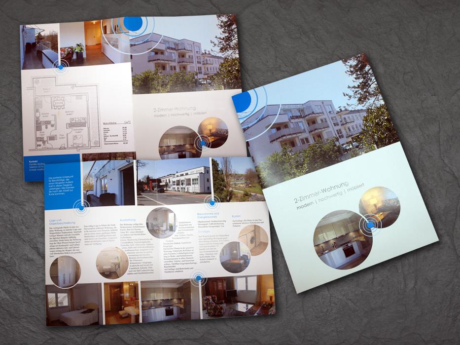 Immobilienbroschüre - Konzept und Design: Birgit Mittelstenschee