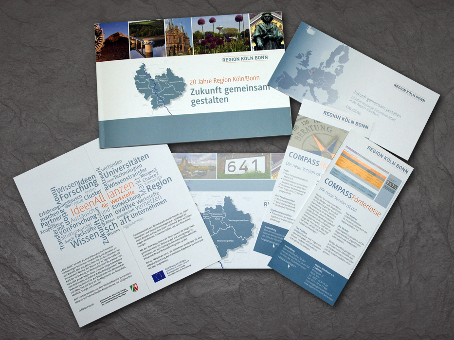 CD Region Köln/Bonn e.V. - Design: Birgit Mittelstenschee, entstanden im Rahmen von Mitarbeit beim Region Köln/Bonn e.V.